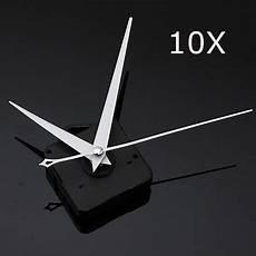 10pcs Triangle Quartz Wall Clock 10pcs diy white triangle quartz black wall clock