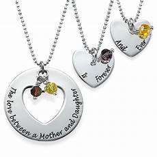 Mutter Tochter Kette - between daughters necklace set my name