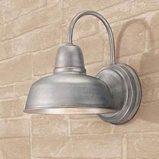 urban barn 11 1 4 quot high galvanized indoor outdoor wall light w4595 ls plus home