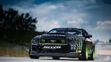 Mustang Drift Wallpaper