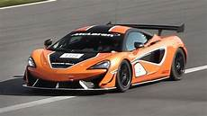 Mclaren 570s Gt4 In On Track Accelerations Fly