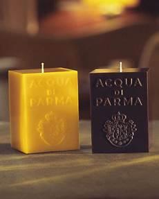 candele acqua di parma acqua di parma yellow cube candle colonia neiman
