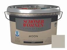 schöner wohnen farbe moon sch 246 ner wohnen trendfarbe 1 l matt moon