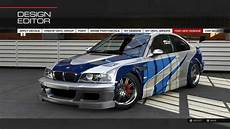 bmw m3 gtr forza 5 remake of the bmw m3 gtr from need for speed