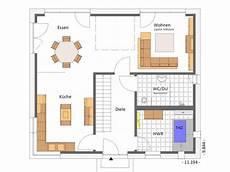 Grundrisse Stadtvilla 160 Qm - beispiel grundriss 160 qm eg kubus mit luftraum