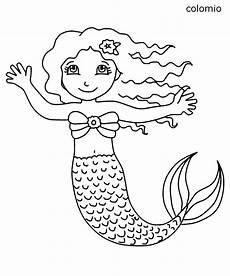 mermaids coloring pages 187 free printable 187 mermaid