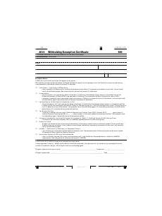 fillable california form 590 withholding exemption certificate printable pdf download
