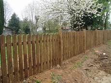 Cloture Bois Pour Jardin