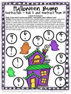 fun games 4 learning halloween math freebies