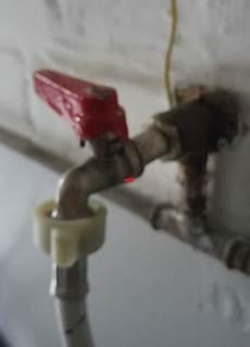 Wasserhahn Tropft Am Gewinde Waschmaschine Heimwerken