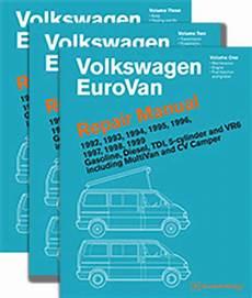 car repair manuals online free 1994 volkswagen eurovan electronic throttle control vw volkswagen repair manual eurovan 1992 1999 bentley publishers repair manuals and
