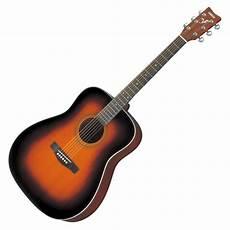 yamaha f370 acoustic guitar tobacco sunburst at gear4music