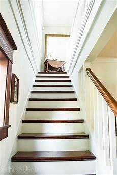 how to refinish old stairs holds dearly