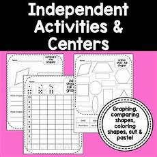 2d 3d shapes common core activities centers for