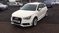 audi a1 s line used audi a1 1 6 tdi s line 3dr white 2011