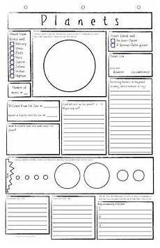4th grade space science worksheets 13406 freebie planets worksheets solar system worksheets planets solar system