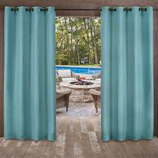 Teal Drapes Curtains by Delano Teal Heavyweight Textured Indoor Outdoor Grommet