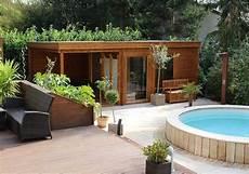 Saunahaus Im Garten - das saunahaus avantgarde wird zur wellness oase eine
