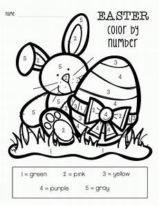 color by number worksheets 16167 easter color by numbers best coloring pages for