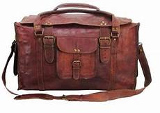 leather duffle bags for
