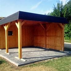 carport mit schuppen flachdach carport mit schuppen und seitenwand carport