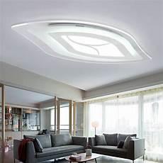 Deckenleuchten Modern Design - moderne deckenleuchte modern blatt design im wohnzimmer
