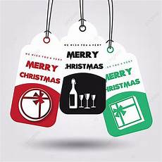 merry christmas vector tags template for free download pngtree