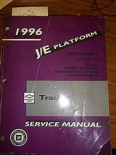 old cars and repair manuals free 1996 geo prizm electronic toll collection 1996 chevy geo tracker service repair manual bk 2 transmission engine electrical ebay