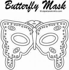 Malvorlage Maske Schmetterling Butterfly Coloring Pages Plant Sale Monarchs Fasching