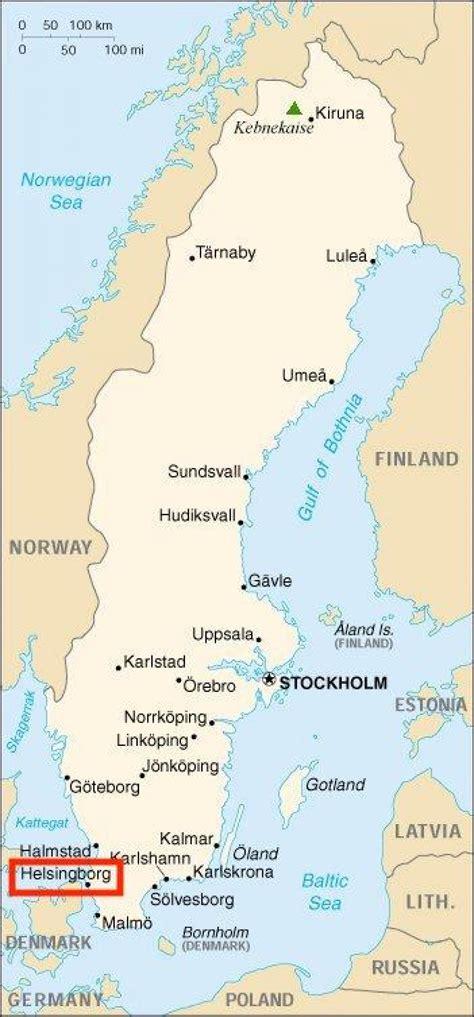 Maps Helsingborg