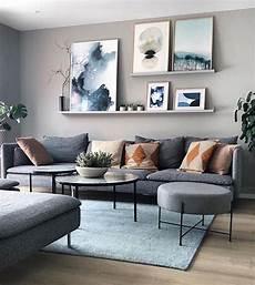 modernes wohnzimmer wandkunst graue