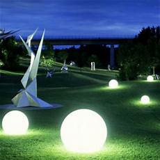led kugel garten rechargeable led sphere light for garden decoration big