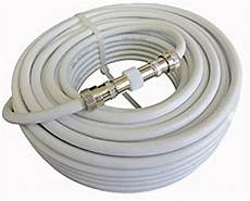 cable tnt tv 15m c 226 ble d extension pour antenne tv c 226 ble coaxial blanc