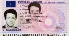 dimension permis de conduire photos le nouveau permis de conduire 233 lectronique arrive en