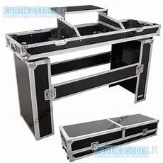 console dj pc flightcase mobile dj valigia trasporto consolle cdj piatti
