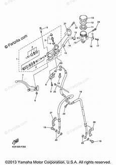 yamaha motorcycle 2008 oem parts diagram for front master cylinder partzilla com