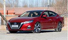 nissan began sales of the updated nissan teana 2020 sedan