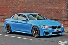 F83 Bmw M4 Convertible Looks Great In Yas Marina Blue