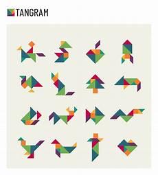 Tangram Kinder Malvorlagen Kostenlos Tangram Kinder Gehirn Spiel Schneiden Transformation
