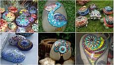Steine Im Garten Mit Mosaik Dekorieren Nettetipps De