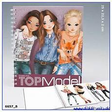Top Model Heft - depesches topmodel