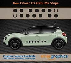 Citroen C3 Airbump Side Stripe Stickers Decals Other