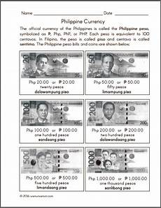 counting money worksheets in peso 2196 philippine money chart and worksheets samut samot