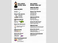 ourhomecreations: Printable Halloween Dinner Menu