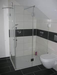 dusche in schräge duschkabine nach ma 223 duschabtrennung ma 223 glasdusche in 7