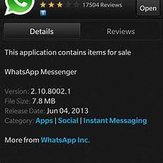 whatsapp updated blackberry at crackberry com