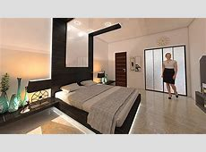150 Sq Ft bedroom interior design and decore by nikshail