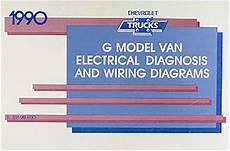 motor repair manual 1995 chevrolet sportvan g30 windshield wipe control 1990 chevy g van wiring diagram manual g10 g20 g30 sportvan electrical chevrolet ebay