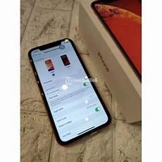 Hp Bekas Iphone Xr 64gb Coral Orange Lengkap Mulus Harga