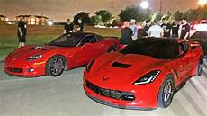 60 190mph corvette race c6 z06 vs c7 stingray